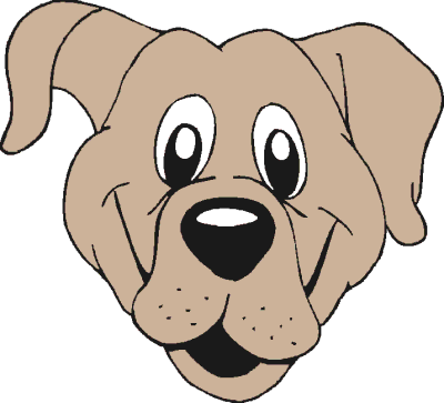 Free Cartoon Dog Clipart, 4 pages of Public Domain Clip Art