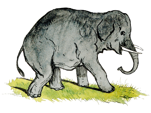 Free Old Elephant Clipart