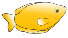 Free Yellow Fish Clipart