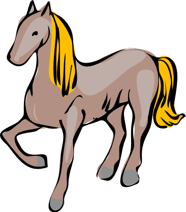 Free Horse Cartoon Clipart