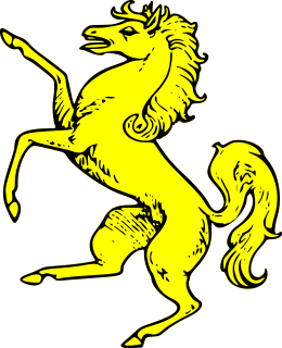 Free Coat of Arms Horse Clipart