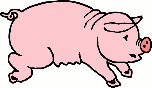 Free Cartoon Pig Clipart