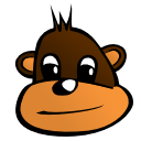 Free Cartoon Monkey Clipart