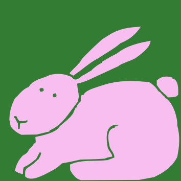 Free Cartoon Rabbit Clipart