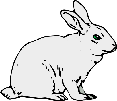 Free Belgian Rabbit Clipart