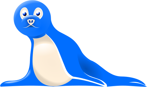 Free Cartoon Seal Clipart