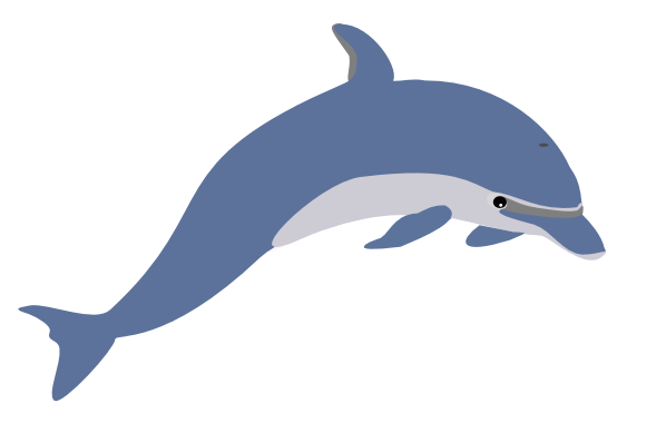 Free Bottlenose Dolphin Clipart
