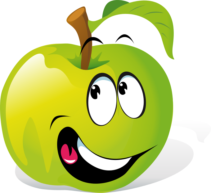 Search Terms: apple, apple, cartoon, face, food, fruit