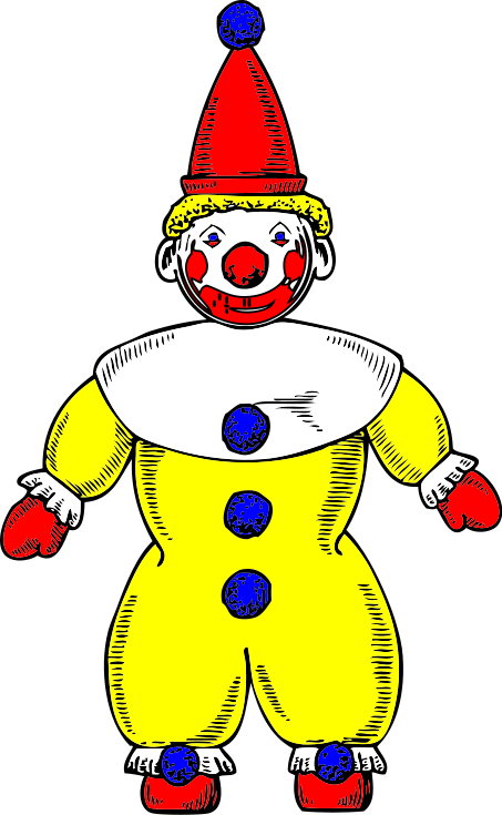 Free Clown Clipart