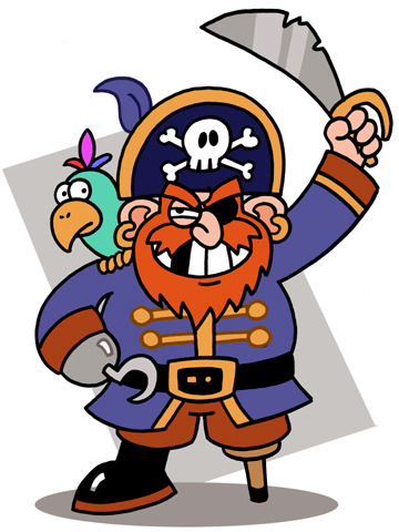 Free Pirate Clipart