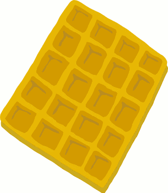 Free Waffle Clipart