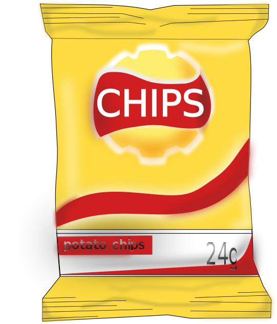 Free Potato Chip Clipart