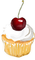 Free Cup Cake Clipart