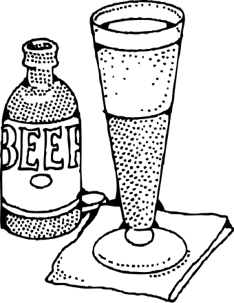 Free Beer Clipart, 1 page of Public Domain Clip Art