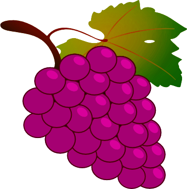 Free Grape Clipart