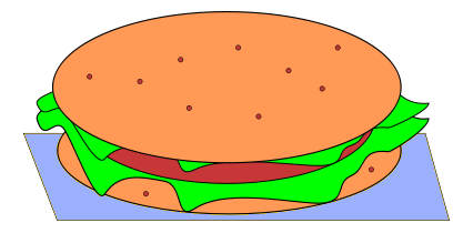 Free Hamburger Clipart