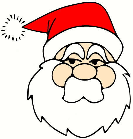 Free Santa Claus Clipart, 4 pages of Public Domain Clip Art