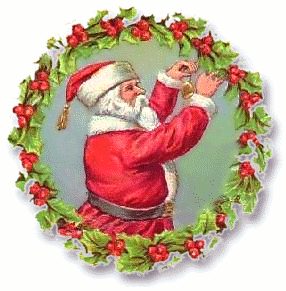 Free Christmas Wreath Clipart