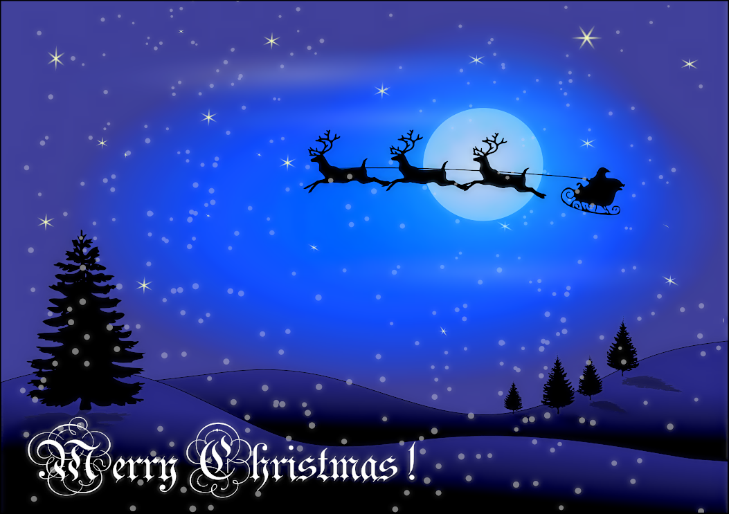 Free Christmas Greetings Clipart