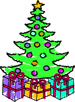 Free Christmas Present Clipart