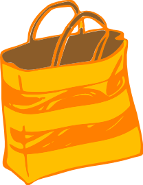 Free Shopping Bag Clipart