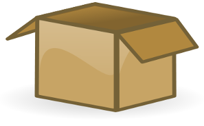 Free Shipping Box Clipart