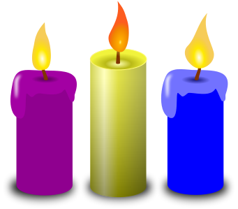 Free Candle Clipart
