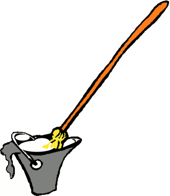 Free Mop Clipart