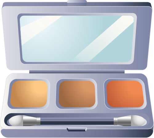 Free Make Up Kit Clipart