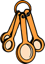 Free Measuring Spoon Clipart