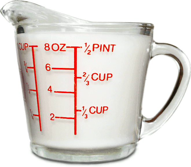 Free Measuring Cup Clipart