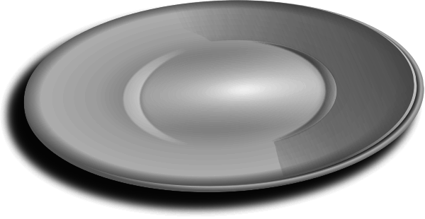 Free Dinner Plate Clipart