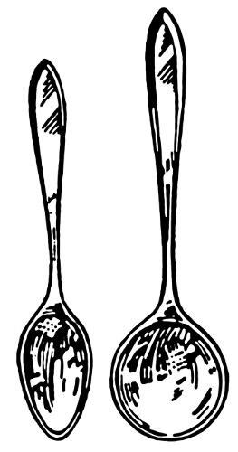 Free Spoons Clipart