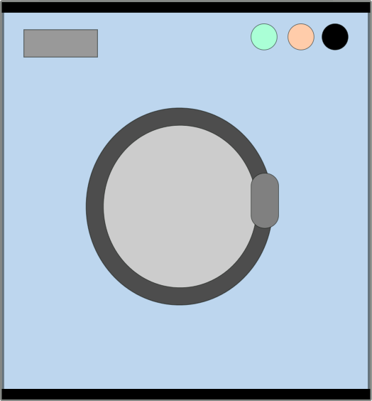 Free Washing Machine Clipart