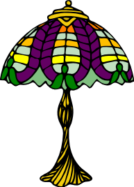 Free Antique lamp Clipart