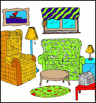 Free Living Room Clipart