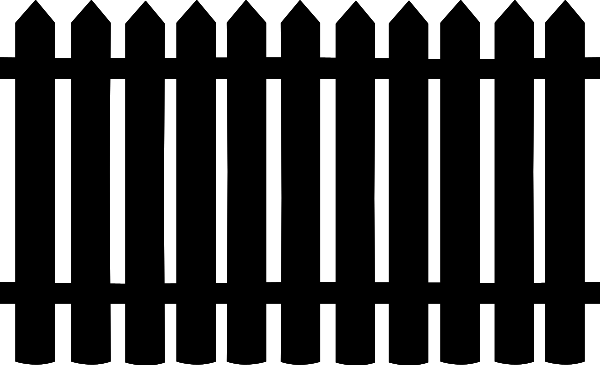 Free Garden Fence Clipart