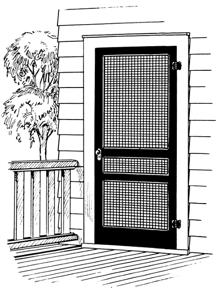 Free Outdoor Coloring Page Clipart