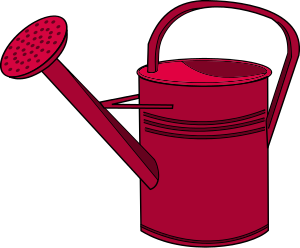 Free Watering Can Clipart