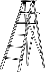 Free Ladder Clipart