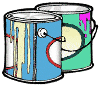 Free Paint Can Clipart