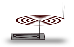 Free Mosquito Coil Clipart