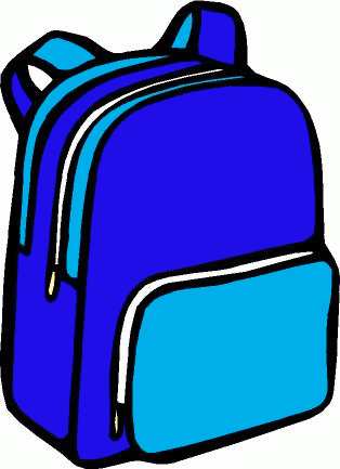 Free Backpack Clipart