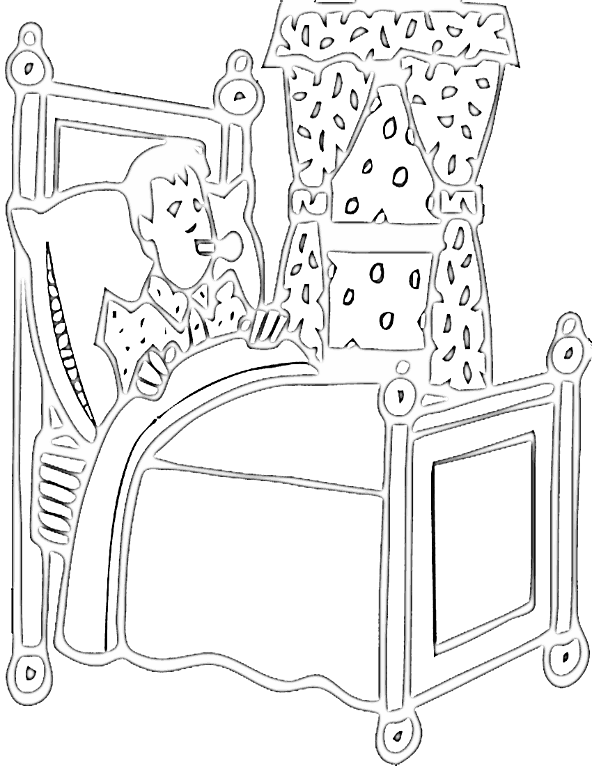 Coloring pages for bedroom - Free School Coloring Pages Clipart