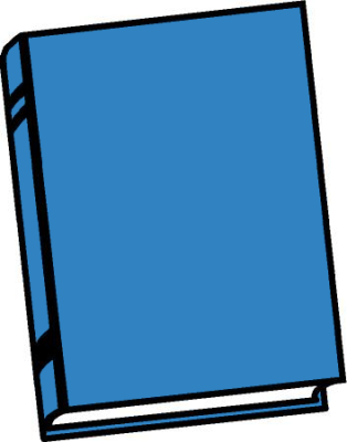 Free Blue Book Clipart
