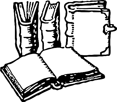 Free Old Book Clipart 1 page of Public Domain Clip Art