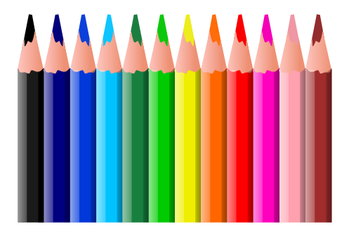 Free Art Supplies Clipart